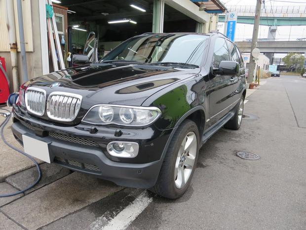 BMW_エンジンルームから白煙.JPG