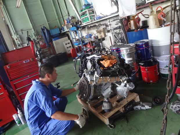 エンジン載せ替え_BMW(LBA-PG20)_4.JPG