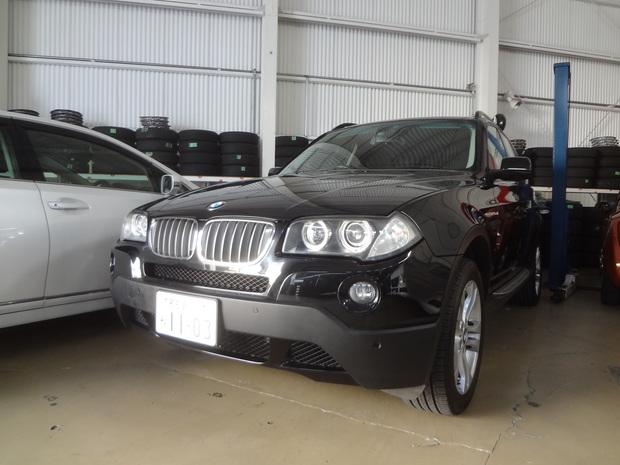 ブレーキ交換_BMW(PC25)_1.JPG