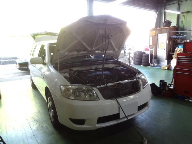 エアコン修理_フィルダー(DBA-NZE121G)_1.JPG