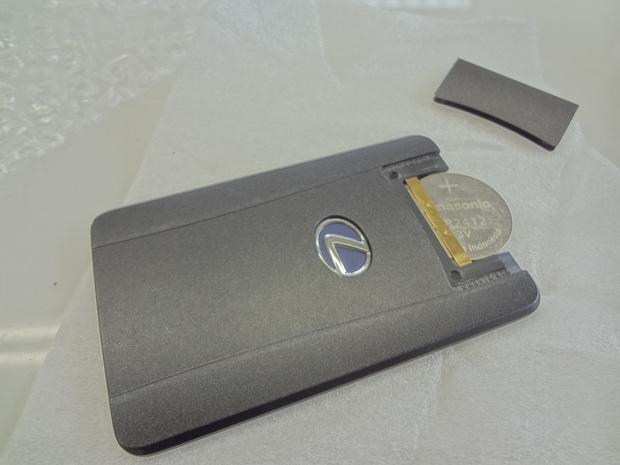 カードキー電池交換_レクサスHS250h(DAA-ANF10)_1.JPG