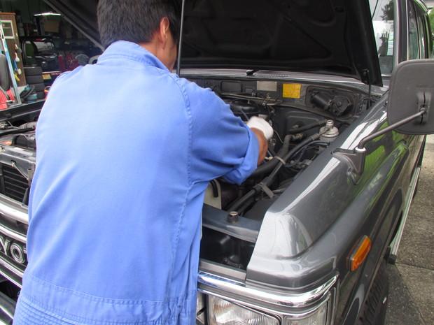 ランクル60(エアコン修理) (2).JPG