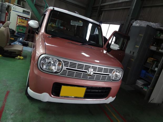 車内クリーニング(味噌汁)_ラパン(DBA-HE22S)_1.JPG